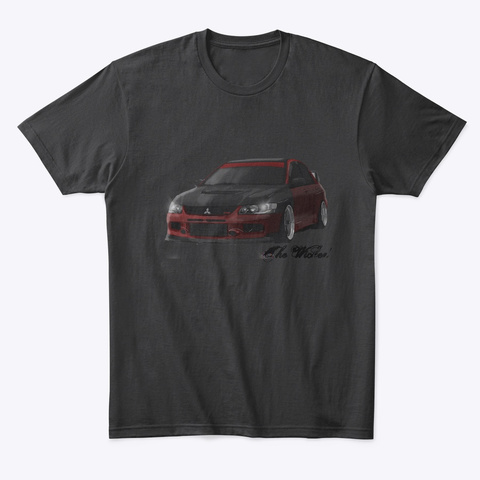 The Wicked Evo9 Black T-Shirt Front