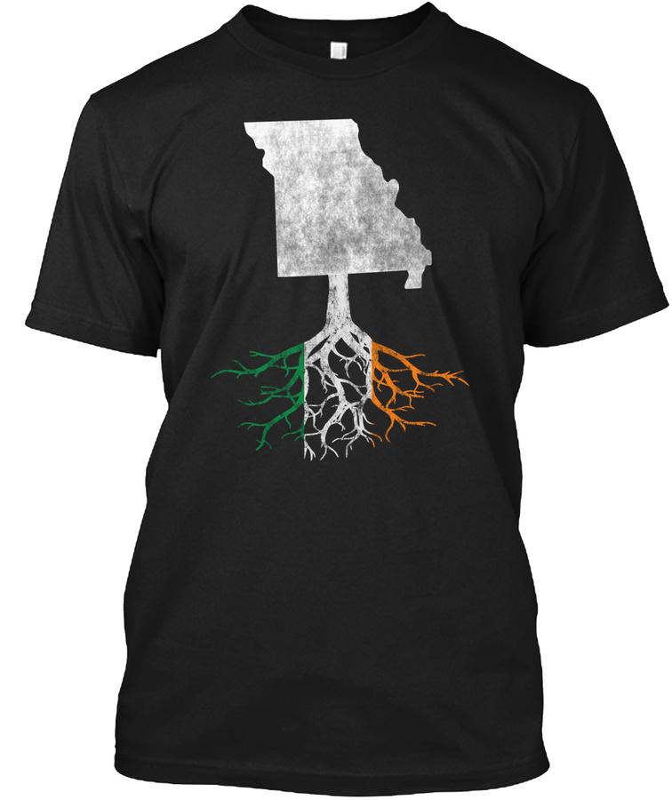 Missouri Irish Root Unisex Tshirt