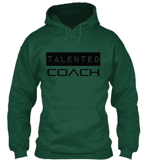 Talented Coach Bottle Green T-Shirt Front