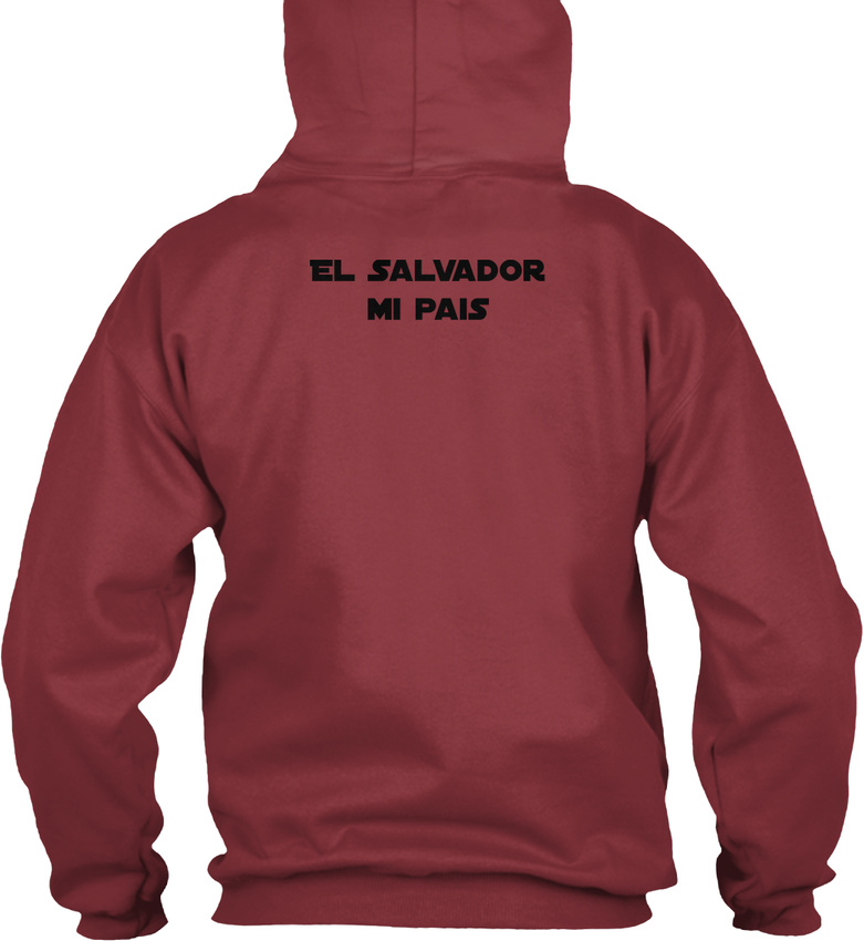 El-Salvador-Mi-Pais-Republica-De-En-La-America-Gildan-Hoodie-Sweatshirt thumbnail 16