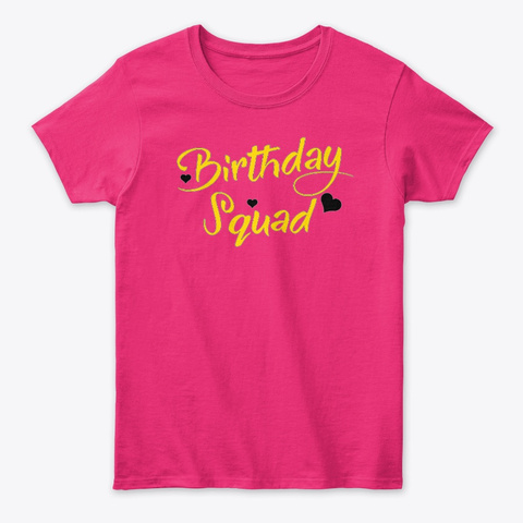 13 Birthday Girl Savannah Squad Heliconia Women's T-Shirt Front