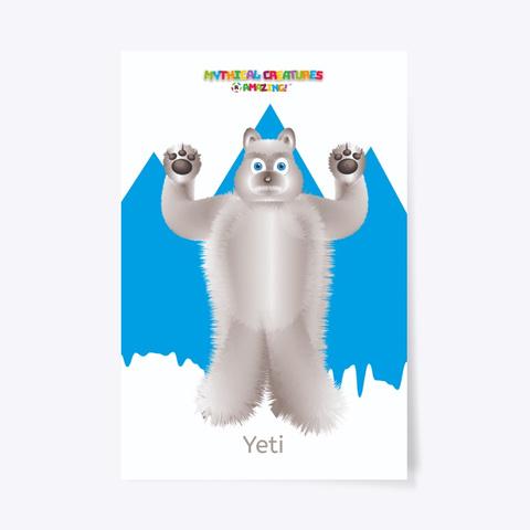 Yeti – 'R' Amazing Poster Standard T-Shirt Front