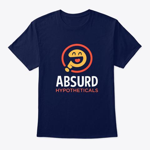 Absurd Hypotheticals T Shirt Navy T-Shirt Front