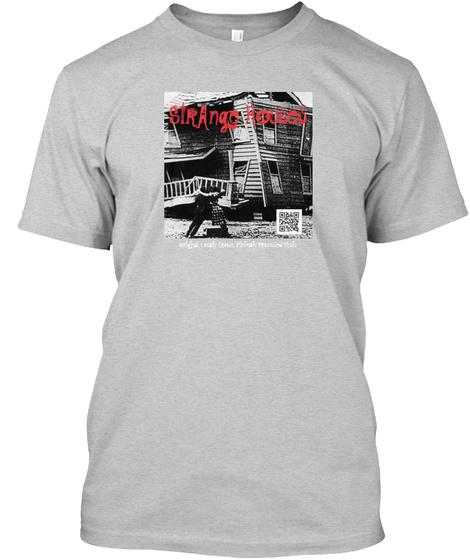 Strango Houses Light Steel T-Shirt Front