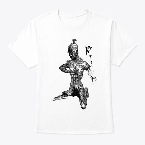 Netero's Sacrifice White T-Shirt Front