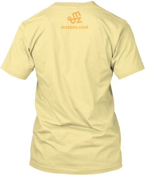 Impossible Trident Banana Cream T-Shirt Back