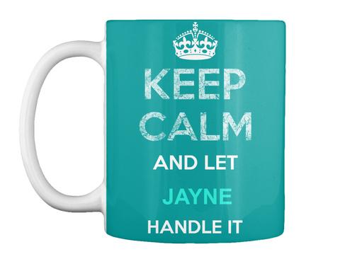 Jayne Aqua T-Shirt Front