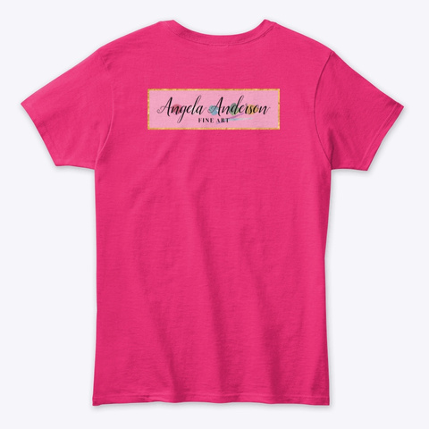 Taking A Stick Day Heliconia T-Shirt Back