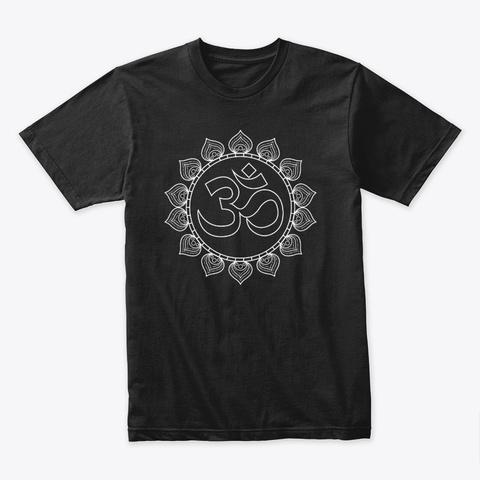 Inner Om Black T-Shirt Front
