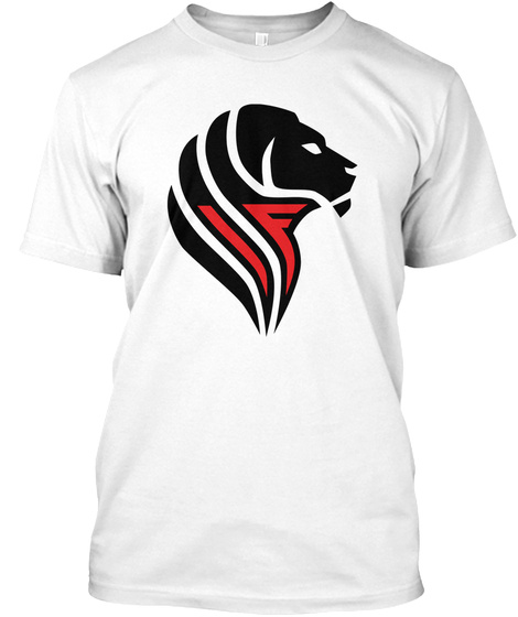 L'individualista Feroce   Logo Nero White T-Shirt Front