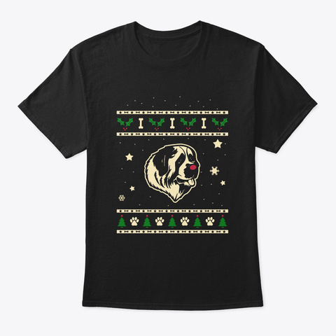 Christmas Moscow Watchdog Gift Black T-Shirt Front