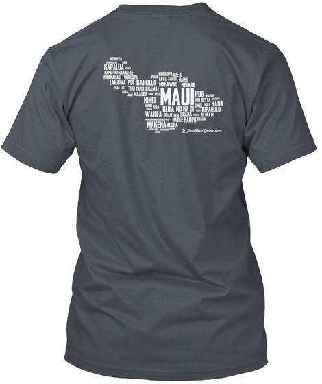 2 Sided Logo Word Cloud Heavy Metal T-Shirt Back