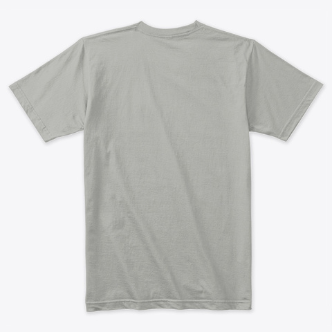 Rock 'n' Roll Lifestyle Light Grey T-Shirt Back
