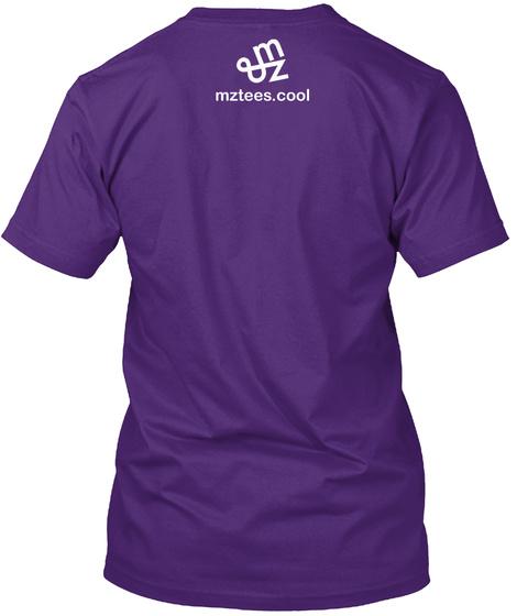 Hex Venn Purple T-Shirt Back