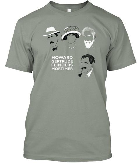 Howard Gertrude Flinders Mortimer Grey T-Shirt Front