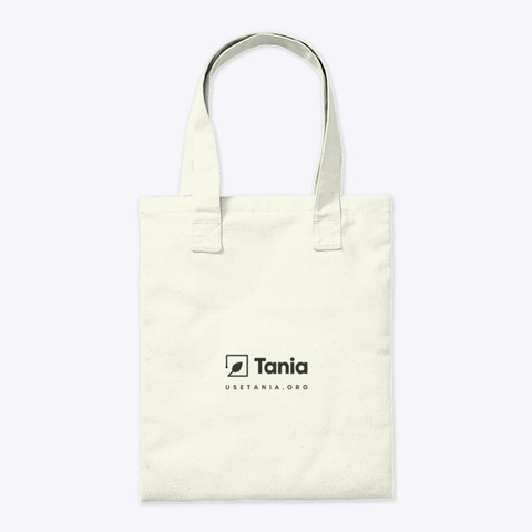 I Love You From My Head Tomatoes! Natural Tote Bag Back