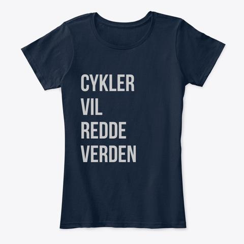 Bwstw In Danish  New Navy T-Shirt Front
