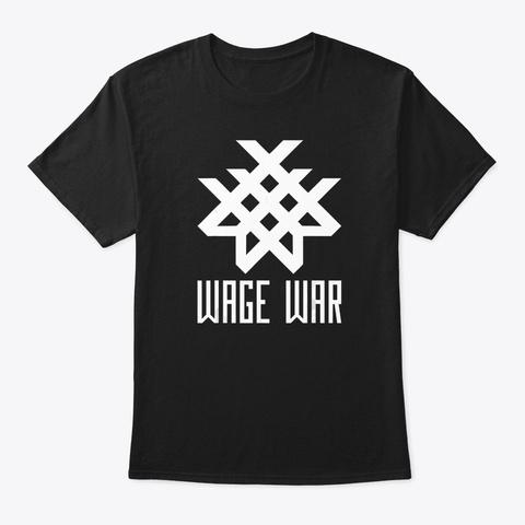 Metalcore+Wage War+Band T Shirt Black T-Shirt Front