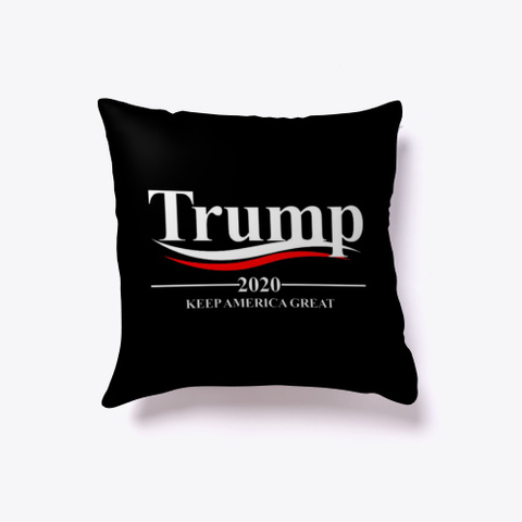 Trump 2020 Official Campaign. Join Now! Black T-Shirt Front