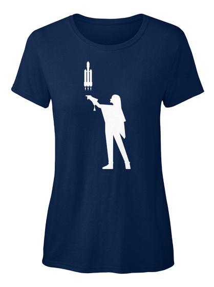 Falconer 4 Woman [Int] #Sfsf Navy Women's T-Shirt Front