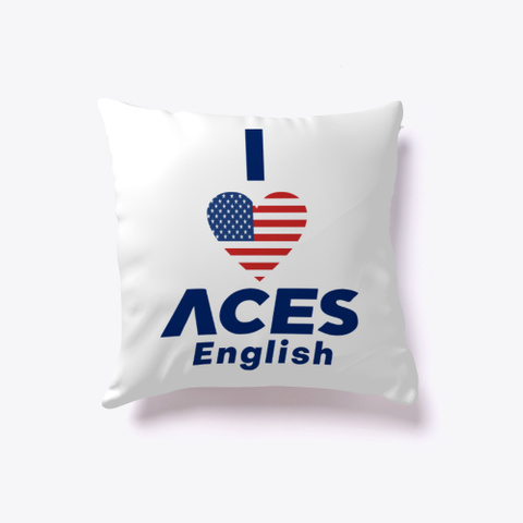 I Love Aces White T-Shirt Front