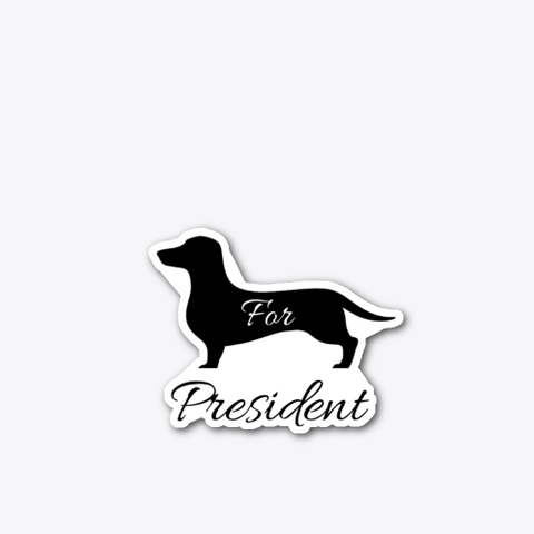 Dach For President Standard T-Shirt Front