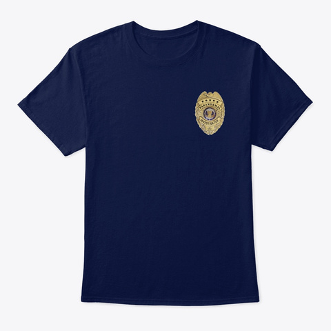Paranormal Investigator Academy Navy T-Shirt Front