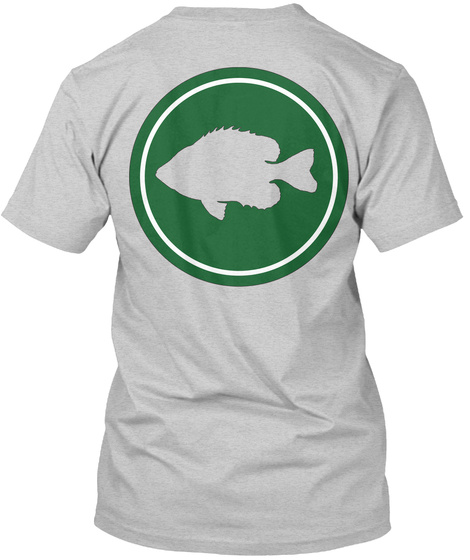The Suburban Angler Light Steel T-Shirt Back