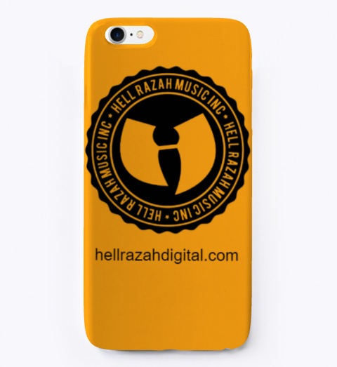 Hrmi I Phone Case  Orange T-Shirt Front