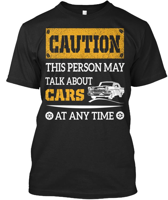 Attention, cette personne peut parler de Voitures-Prudence Standard à Standard Voitures-Prudence Unisexe T-Shirt db0e62