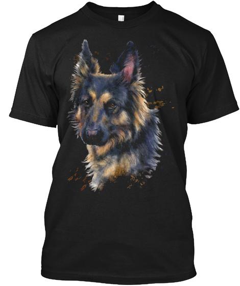 2544e610e0e8d Hand Painted Watercolor Dog T Shirt ~ GERMAN SHEPARD: Teespring Campaign