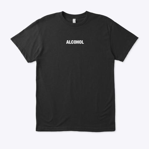 Nps Art Alcohol Collection Black T-Shirt Front