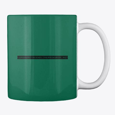 Kinda Ratchet, Kinda Righteous Mug Forest Green T-Shirt Back