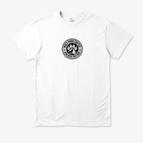 Organic Cotton Tee White T-Shirt Front