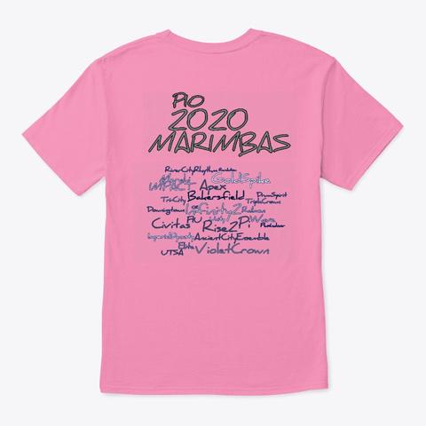 Pio Marimba 2020 Read Description Pink T-Shirt Back