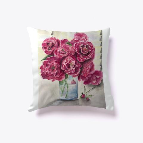 Watercolor Roses   Art Print Essentials. Standard T-Shirt Front