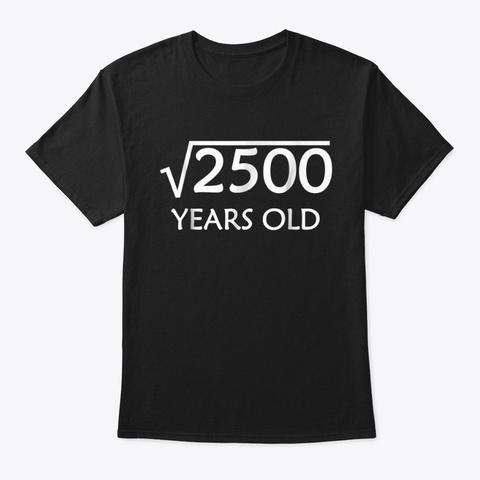 50th Birthday T-Shirt  Square Root of 2 Unisex Tshirt