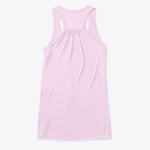 Yoga Superpower Tank Top For Women Soft Pink T-Shirt Back