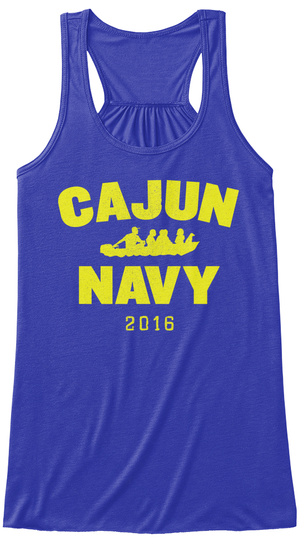 Cajun Navy 2016 True Royal T-Shirt Front