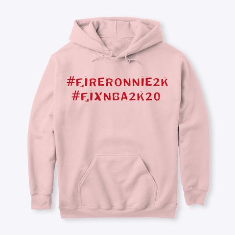 2 K Fire Sale Light Pink T-Shirt Front