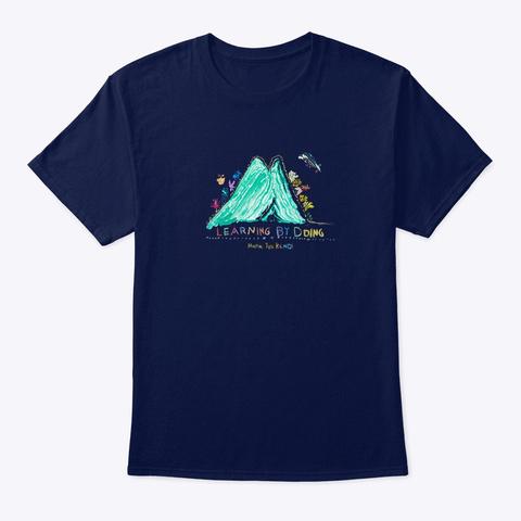 Yeli Kendi Tee Navy T-Shirt Front