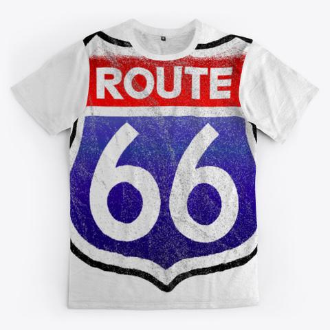 Vitage 66 Sign Standard T-Shirt Front