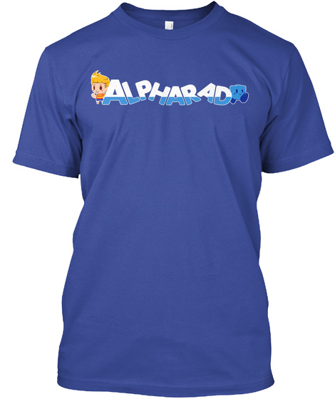 Alpharad  Deep Royal T-Shirt Front