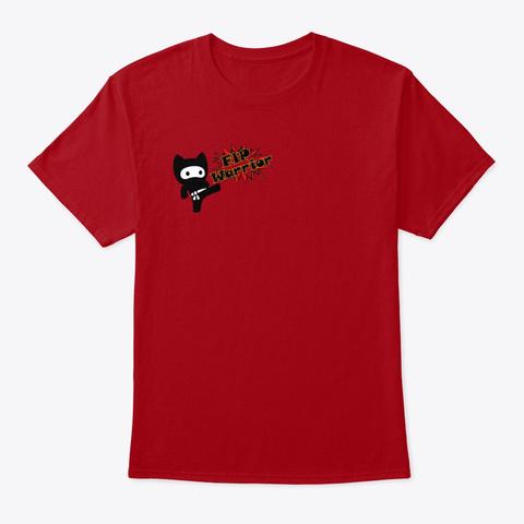 Fip Warriors Deep Red T-Shirt Front