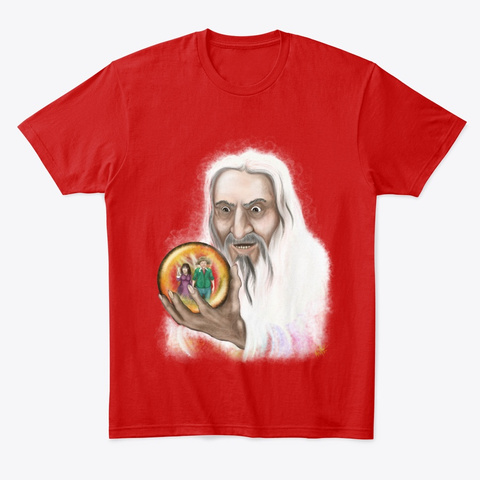 Curunir's Hobbity Holiday Classic Red T-Shirt Front
