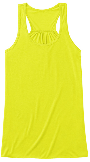 Leave Me Alone Neon Yellow T-Shirt Front