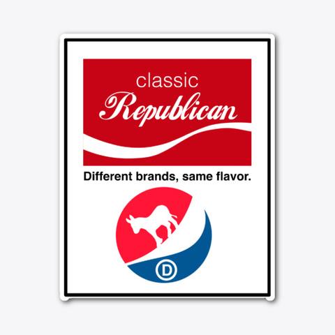 Different Brands Same Flavor Standard T-Shirt Front
