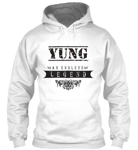 Yung An Endless Legend White T-Shirt Front