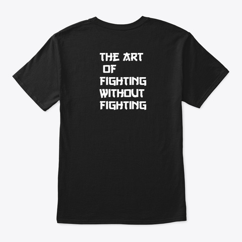 Konchence The Nobleman   Art Of Fighting Black T-Shirt Back