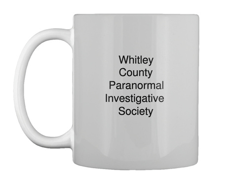 Whitley County Paranormal Investigative  Society Lt Grey T-Shirt Front